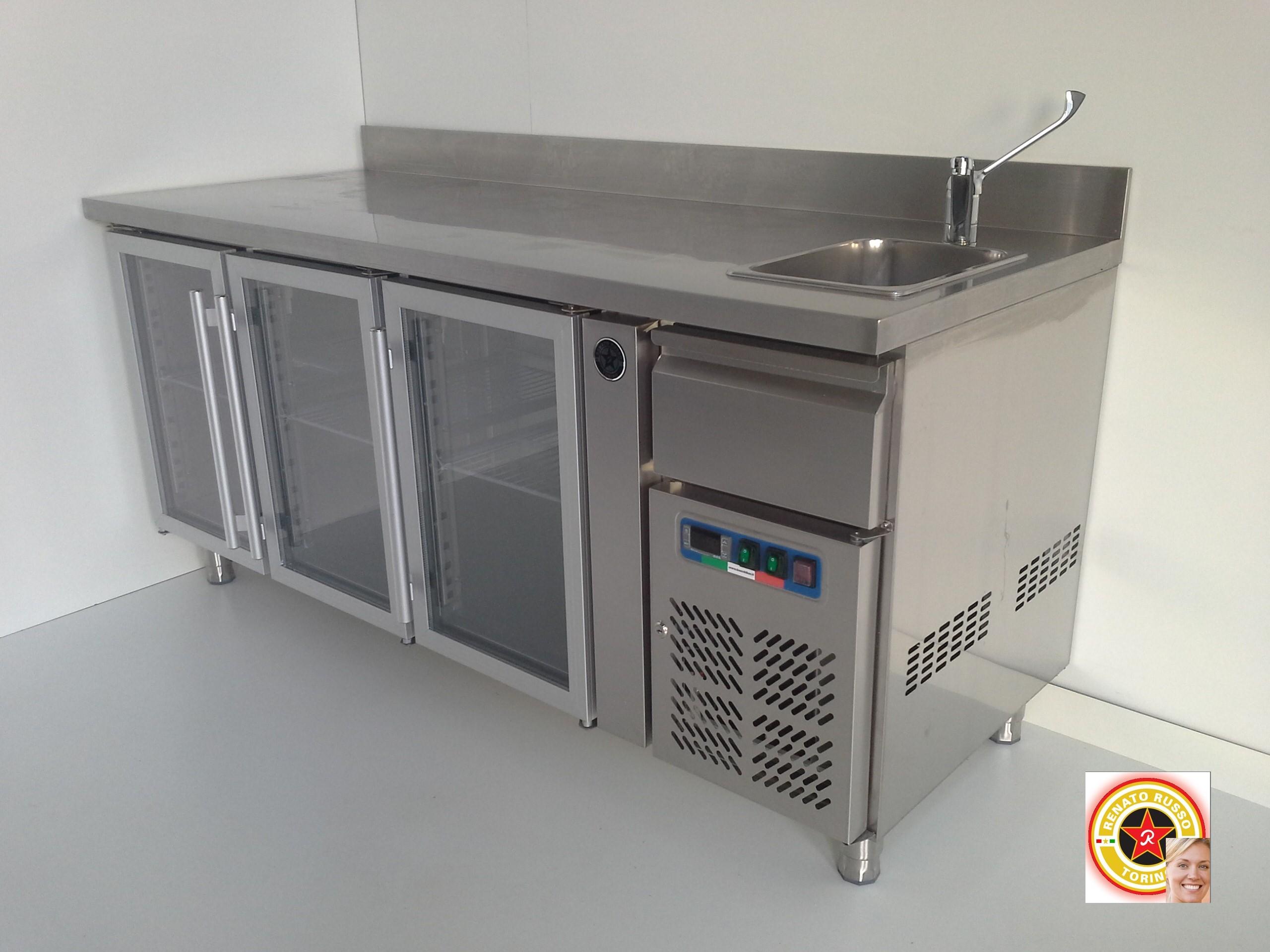 Banconi bar in promozione banchi frigo banconi bar banchi bar grezzi vetrine refrigerate - Frigo da tavolo usato ...