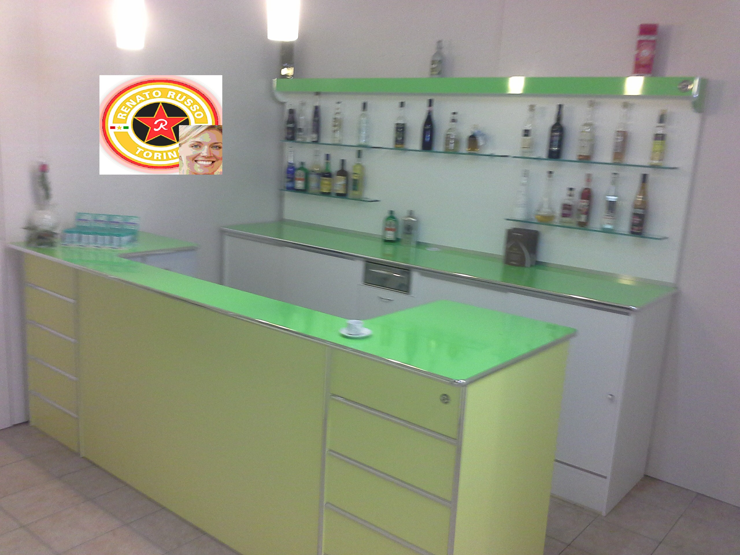 Banchi Bar in PROMOZIONE, Prezzi Banchi Frigo, Banconi Bar, Banchi ...